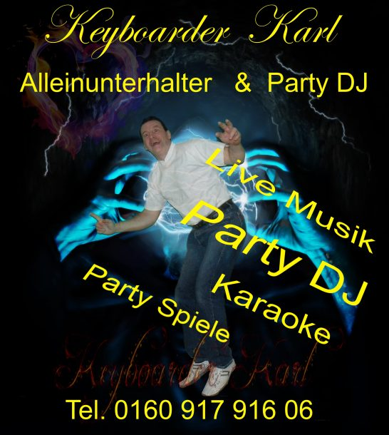 Musik Duo NRW Party DJ Keyboarder Karl LIVE FOTO April 2014